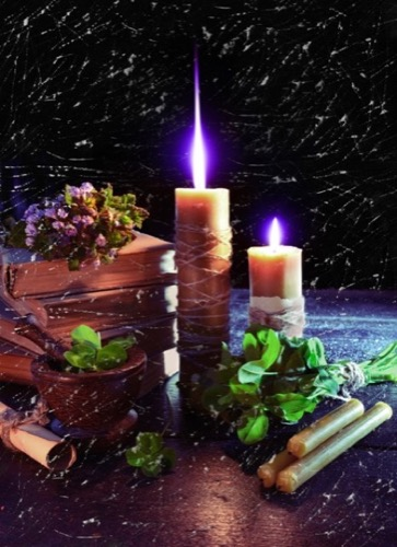 fertility spell with candles