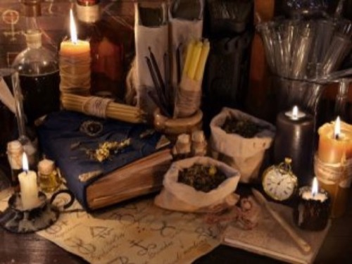 book of shadows, magic love spells, spell to make someone love you