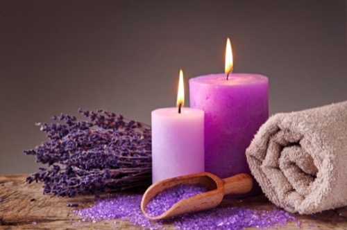 pink candle spells